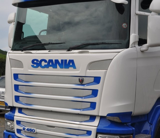 HMG Paints - Rafferty - Scania - Acrythane 4G