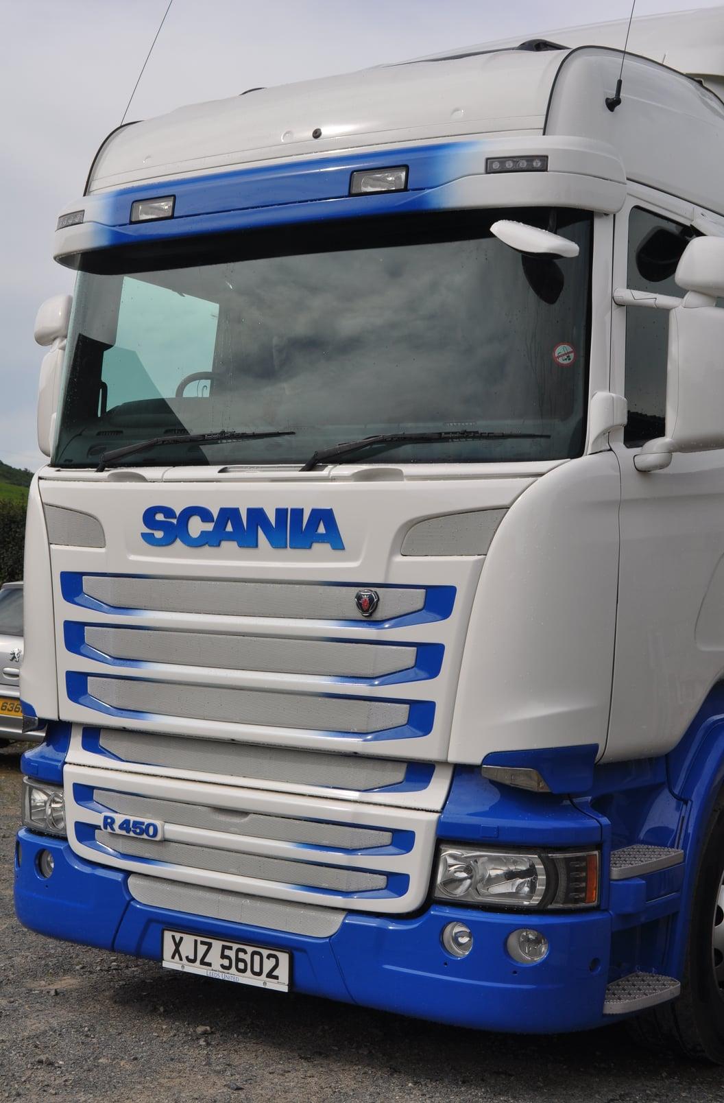 HMG Paints - Rafferty - Scania - Acrythane 4G